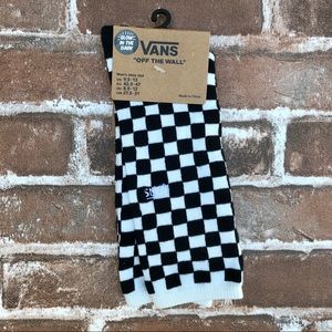 VANS Glow in the Dark Checkered Crew Socks